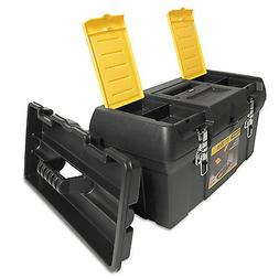 Stanley Series 2000 Toolbox w/Tray Two Lid Compartments 0191