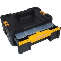 Dewalt Small Parts Tool Storage Organizer Stackable 6-Compar