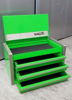 Snap-On New GREEN Miniature Mini Upper Top Tool Box Drawers