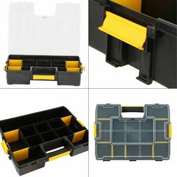 sortmaster 15-compartment small parts organizer   stanley to