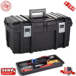 NEW Husky 22 in. Tool Box Storage Toolbox New Metal Latches