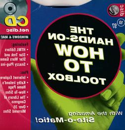 The Net Magazine October 1997 CD How to Toolbox plus AOL Off