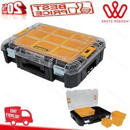 DEWALT Tool Box Storage Organizer Portable Toolbox Case, TST