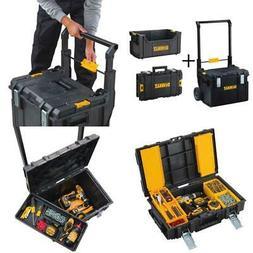 Tool Storage Box Set Mobile Dewalt ToughSystem 3-Pcs Rolling