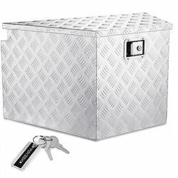 "Trailer Tongue 33"" Aluminum Tool Box For Truck Pickup Storag"