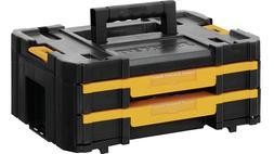DEWALT TSTAK Tool Storage Organizer Double Drawers DWST17804