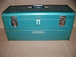 "Vintage Wards Master Quality Tool Box - 20"" Long   VINTAGE M"