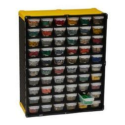 Yello 60-Compartment Small Parts Organizer With Content Iden